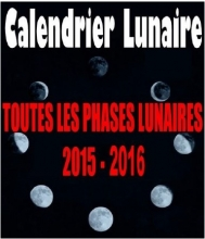 Calendrier lunaire - Bookiner